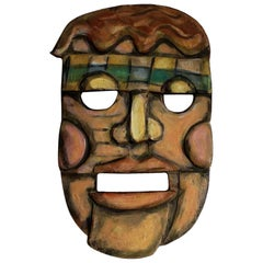 Conrad Furey Mask Carving