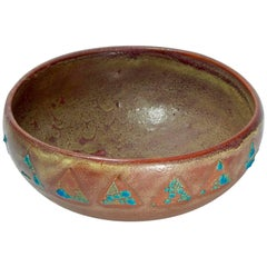 Relicware Earthenware Bowl # 87 by Andrew Wilder