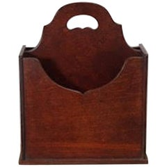 Early 20th Century Magazine Rack or Cantebury by Conant Ball, Boston