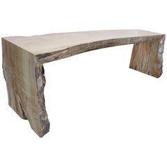 Spalted Maple Reclaimed Wood Bench