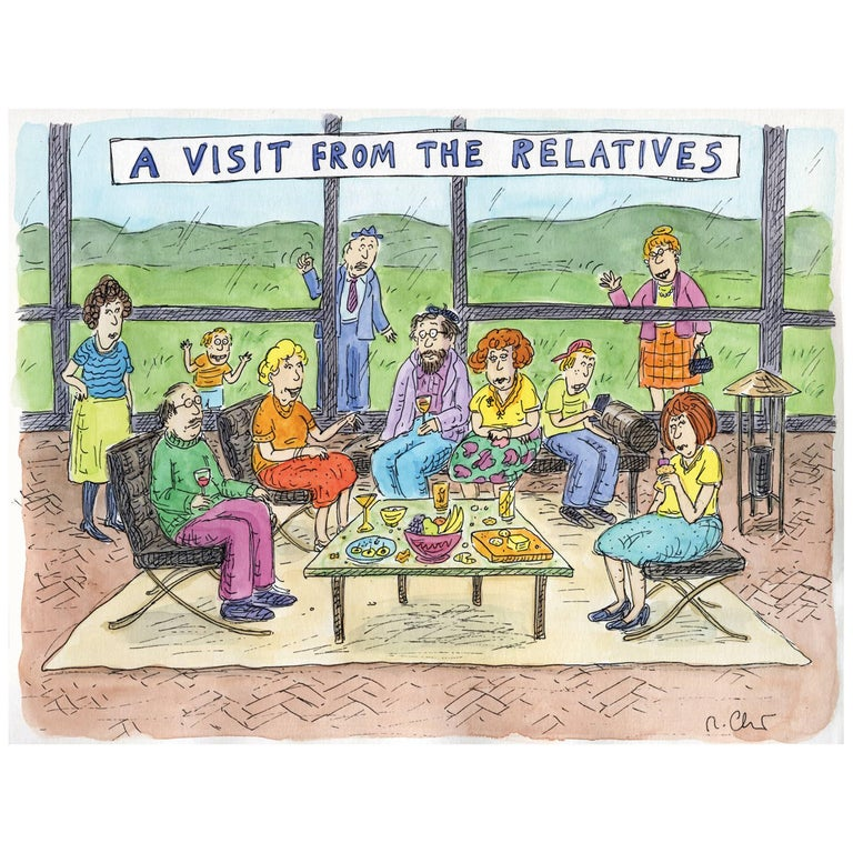 A Visit from the Relatives For Sale