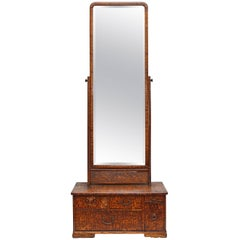 Tall Dressing Table Mirror 19th Century