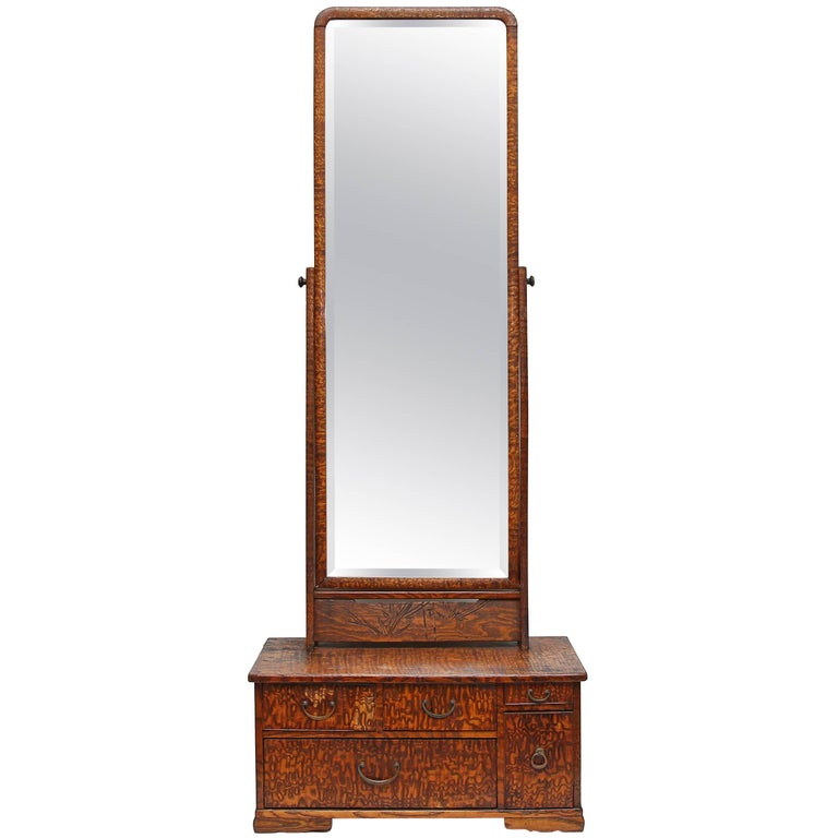 Tall dressing table mirror 19th century for sale at 1stdibs for Tall mirrors for sale