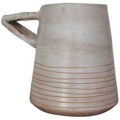 Mado Jolain Ceramic Architectural Vase, France, 1950s