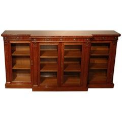 19th Century William IV Breakfront Bookcase