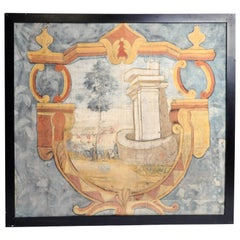 18th Century French Chateau Banner