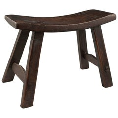 Early to Mid-20th Century Wood Stool, China