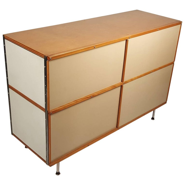 1950s Charles & Ray Eames ESU 200 Storage Unit Credenza for Herman Miller For Sale