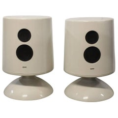 Midcentury Space Age Jupiter 6500 Speakers by Empire, NY