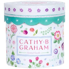 Cathy Graham Custom Designed Candle