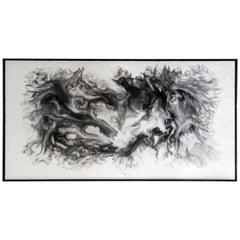 'Metamorphic' Encaustic Painting by Lonney White