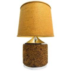 Cork Table Lamp