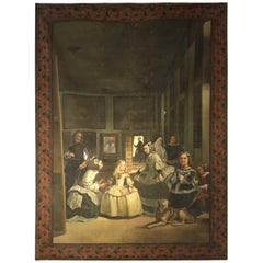 Original Painting 230 cm, Late 19 Century sign