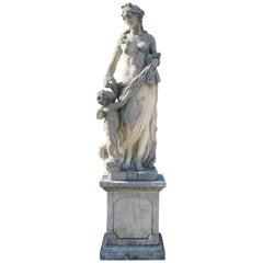 Early 20th Century of the Italian Garden Statue of Aurora