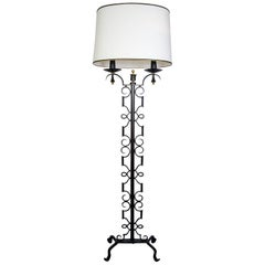 Rare Floor Lamp Designed by Paul Kiss