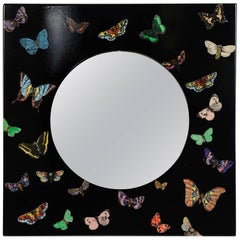 "Rare "" Butterfly"" Mirror by Piero Fotnasetti"