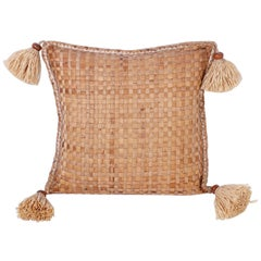 Large Woven Palm Pillow