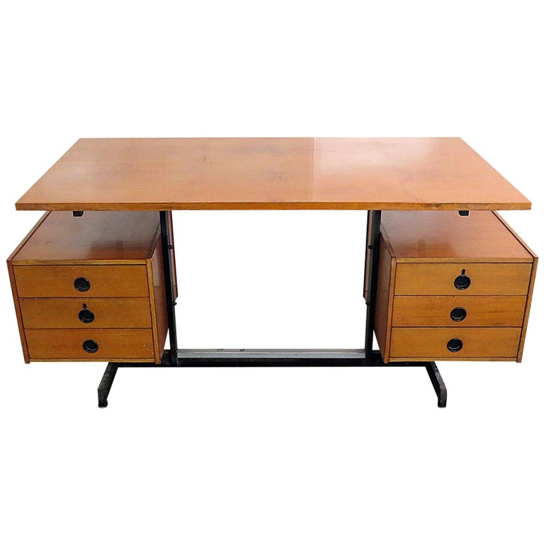 Italian Modern Floating Top Desk For Sale At 1stdibs