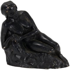 Mike Diamond Reclining Nude Sculpture
