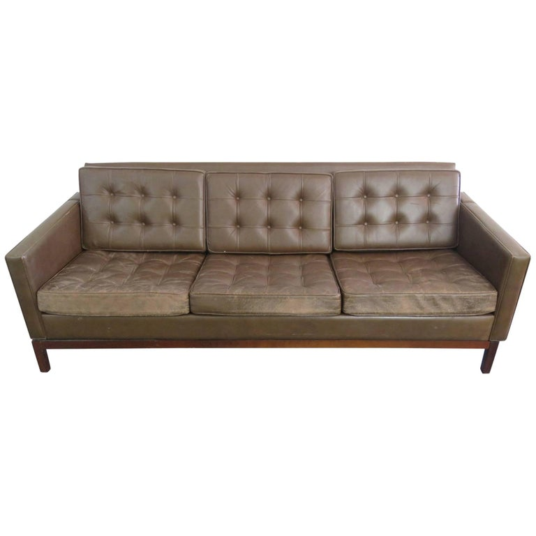 Sofa Sets For Sale In Nairobi: Knoll Leather Sofa For Sale At 1stdibs