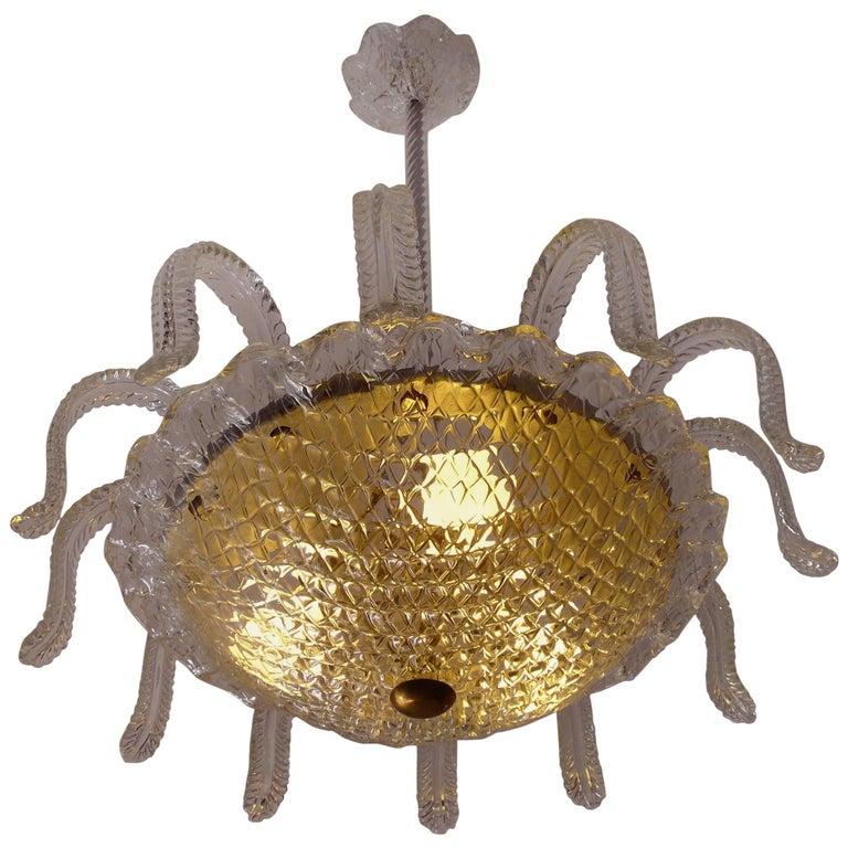 Medusa by Barovier & Toso, Murano, 1950s