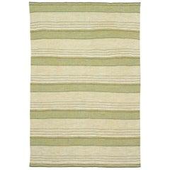 Mid-20th Century Swedish Flat-Weave Rug