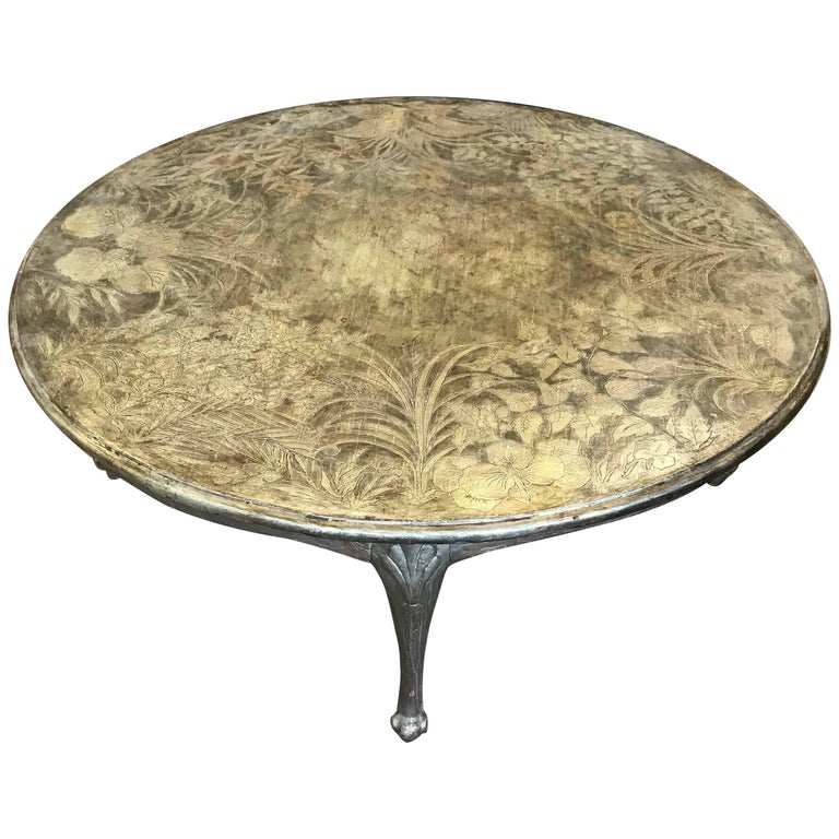 Round Max Kuehne Coffee Table For Sale