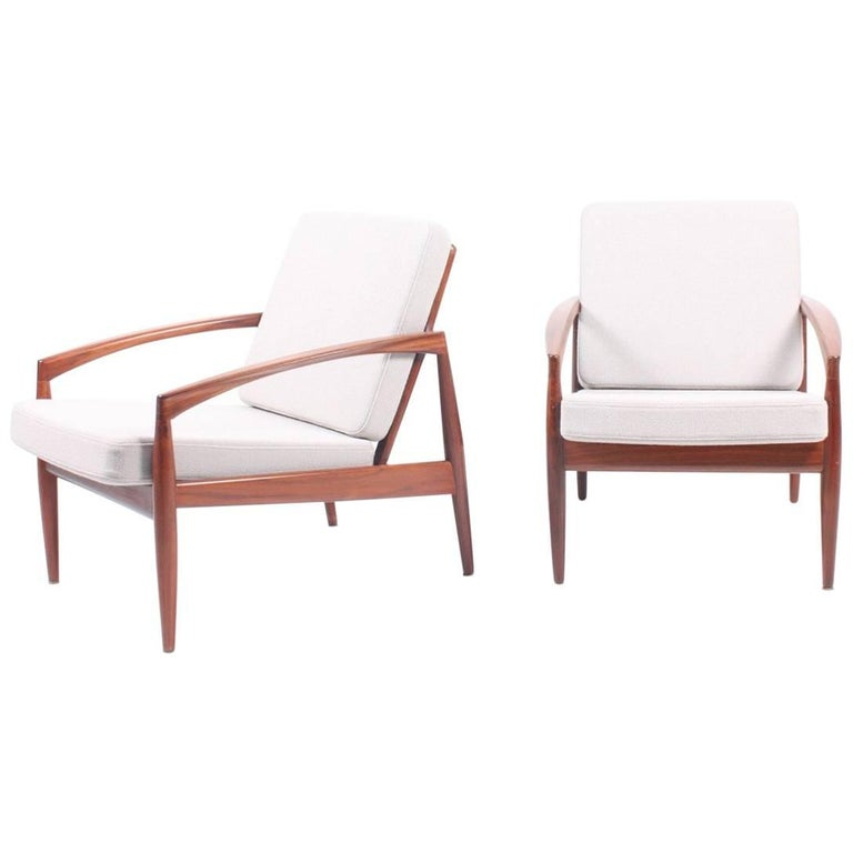 Pair of Lounge Chairs by Kai Kristiansen