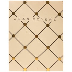 """Jean Royere Book with """"Eiffel Tower"""" Cover"""