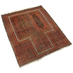 Baluch Traditional Hand-Knotted Rug, 1920s