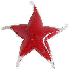 Murano Red Star