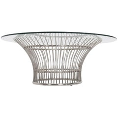 Coffee Table in the style of Warren Platner