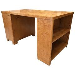 Flame Birch Desk by Bodafors