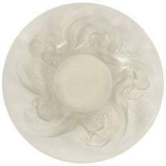 "René Lalique Molded Opalescent Glass ""Calypso"" Bowl"
