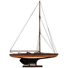 Danish Ship Model, circa 1930s