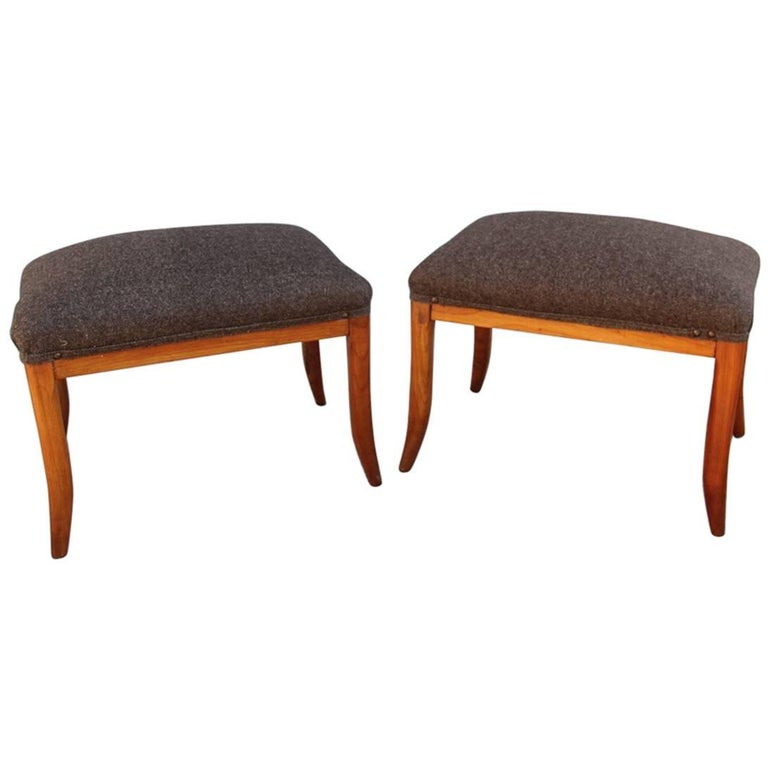 Pair of Stools Italian Design Chic and Very Particular