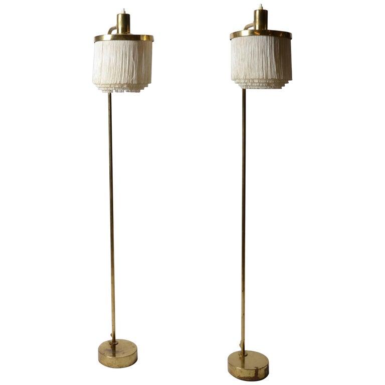 Hans Agne Jakobsson, Floor Lamps, Sweden, 1950s-1960s