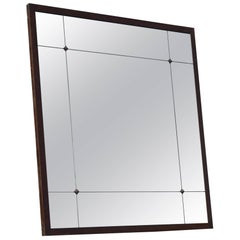 Industrial Style Customizable Iron Frame Aged Effect Mirror
