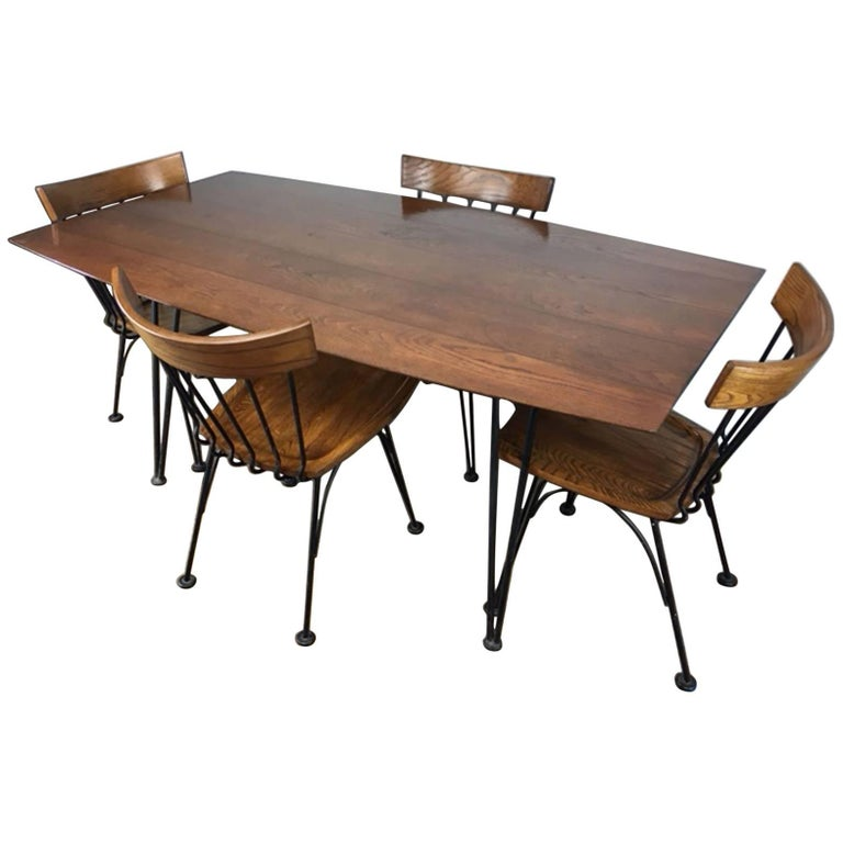 Russell Woodard Allegro Dining Set For Sale
