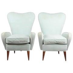 Lounge Chairs, Italian, 1950s-1960s