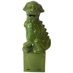 Lime Green Foo Dog