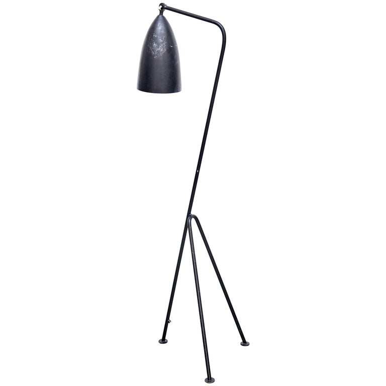 "Greta Magnusson ""Grasshopper"" Floor Lamp For Sale"