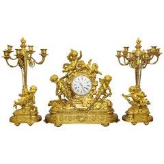 Louis XVI Mantel Clocks