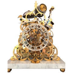 Sinclair Harding Three Train Mantel Clock