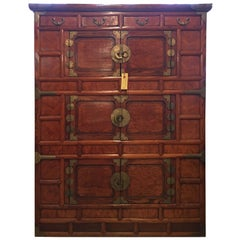 Antique Korean Cabinet