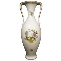 Herend Hungary Amphora Porcelain Vase Hand-Painted
