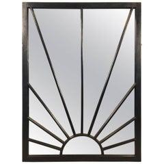 English Rectangular Black Frame Mirrors (H 48 4/4 x W 35 3/4)