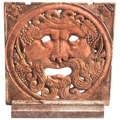 Early 18th Century Italian Wall Mount Wall Relief in Rosso Verona