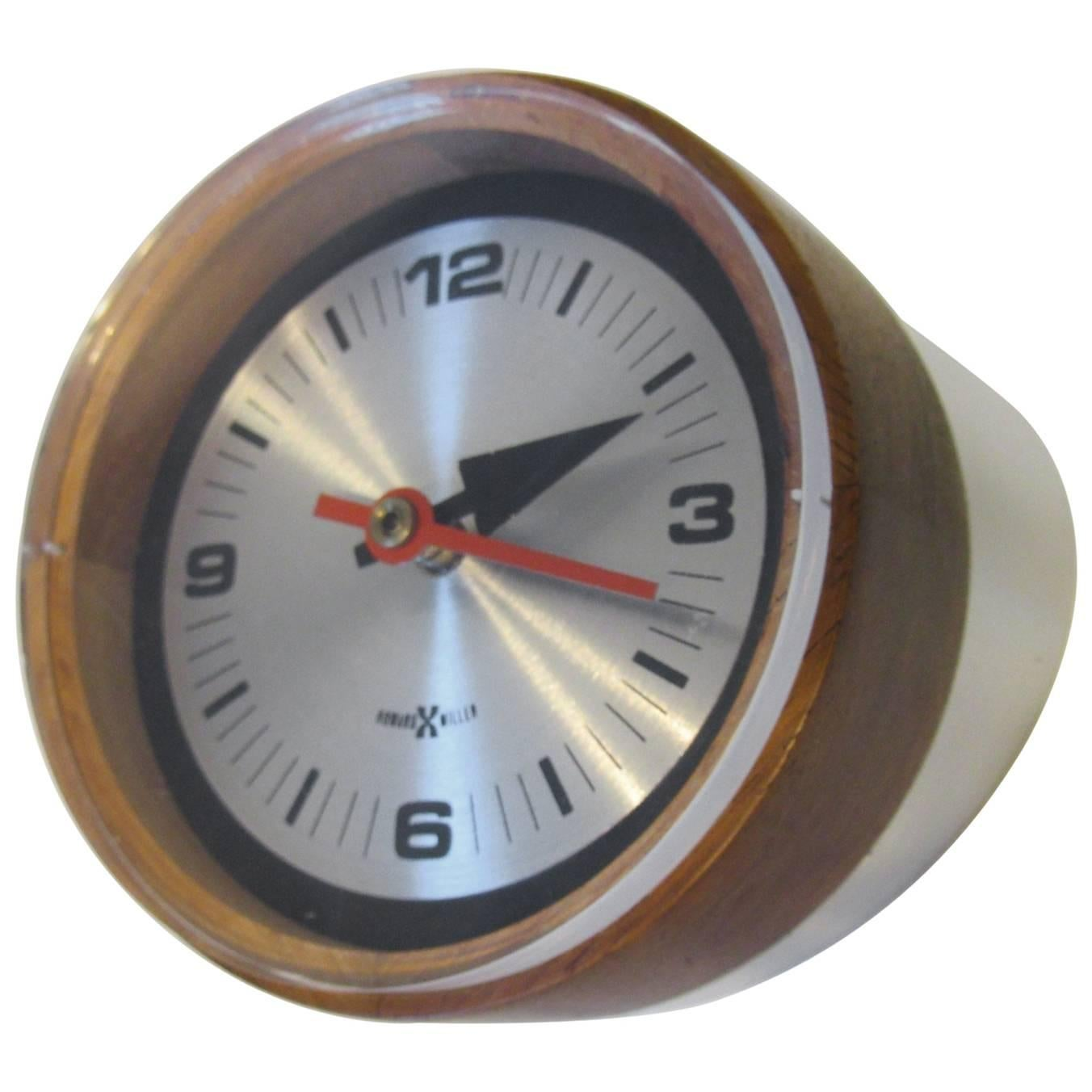 Perfect George Nelson / Howard Miller Table Clock For Sale