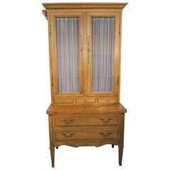 ON SALE NOW!  Beautiful Louis XVI Style Secretary Storage is Plentiful